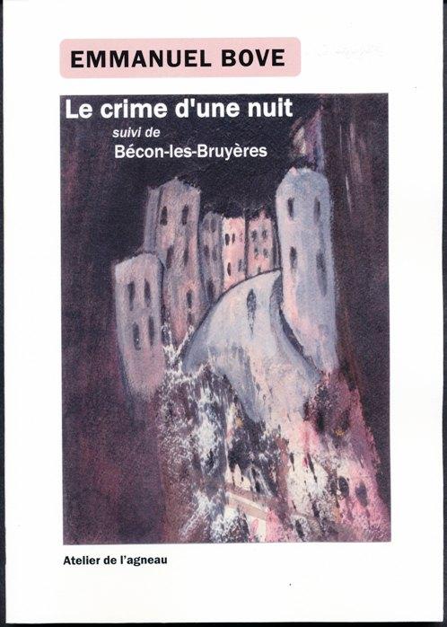 couverture de Gérard Jaulin pour E.Bove