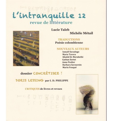 L'intranquille n° 12