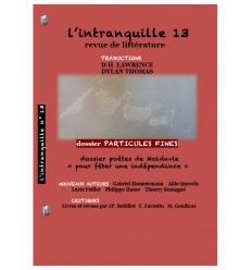 l'intranquille n°13 automne/hiver 2017