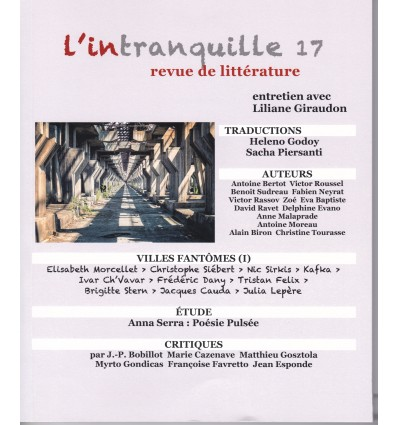 L'iNTRANQUILLE N°17
