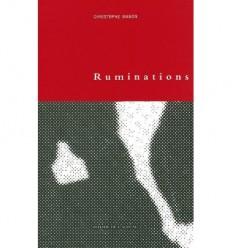 Ruminations, ou le dedans de parler